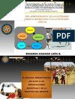 INTRODUCCIÓN A LA ADMINISTRACIÓN DE LA CFDR. PROCESO ADMINISTRATIVO PLANEACIÓN II