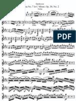 II -Sonata N° 7 in C Minor 'Violin''