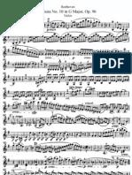 II -Sonata N° 10 in G Major 'Violin''