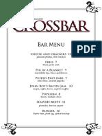CrossBar Menus