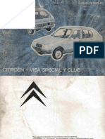 Manual Citroen Visa