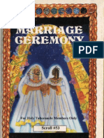 The Marriage Ceremony by Dr Malachi K York