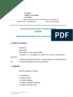 Semiologia Ortopedica Da Coluna Vertebral