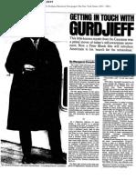 37818602 Gurdjieff Article Nytimes