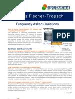 Velocys FT FAQ