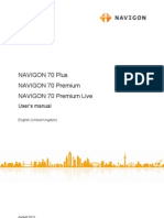 English Manual Navigon70plus