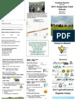 401 2011 Field School Brochure