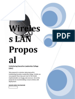 Wireless LAN Proposal