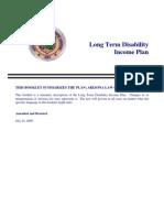 Arizona State Retirement System Long Term Disability Brochure
