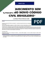Luis Manoel Teles de Menezes Leitão - O enriquecimento sem causa no novo Código Civil Brasileiro