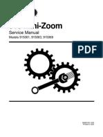 Service Ariens Minizoom