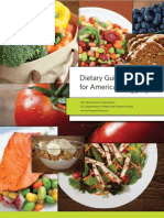 Dietary Guidelines for Americans 2010 FDA - US Dept of Human and Health Services