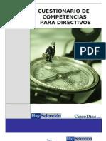 Cuestionario Competencias Directivos