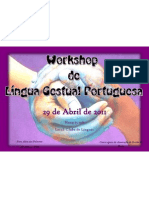 Cartaz 1.1- Workshop