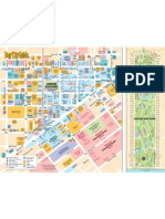 Golden Gate Park and Union Square Map