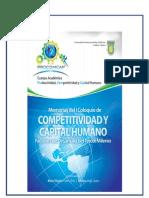 Libro Electronico Memorias Del I Coloquio de Competitividad y Capital Humano Factores Del Tercer Milenio Septi