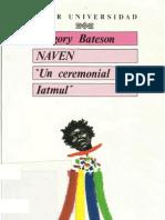 G. Bateson - Naven