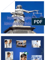 Implicaciones Legales en la Administración medicamentos.