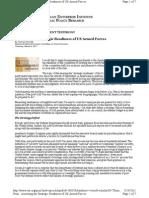 AEI Assessing Military Strength