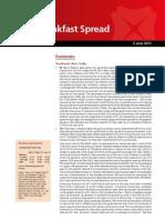 2011-06-02 DBS Daily Breakfast Spread