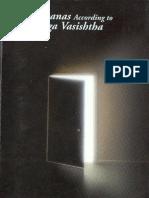 Sadhanas According to Yoga Vasishtha PDF