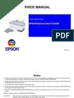 Epson Stylus Color c70 - c80 Service Manual
