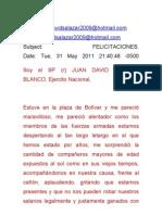 Felicitaciones y Reconocimiento Concentracion de La Reserva 31-05-2011