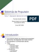 Sistemas de Propulsion