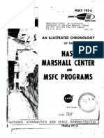 An Illustrated Chronology of the NASA Marshall Center and MSFC Programs