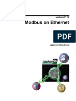 Modbus on Ethernet