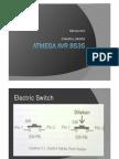 ATMega AVR 8535 praktek 2