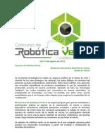 Concurso de Robótica Verde