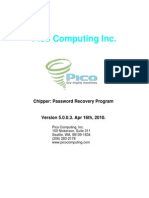 Pico Computing Password Recovery Program Manual (Apr 2010)