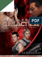 Battle Star Galactica RPG Corebook