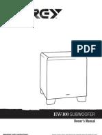 IBJSC.com - Energy EW-100 10-Inch 225-Watt Down-Firing Subwoofer