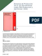 Análisis de Sistemas de Producción Animal_FAO