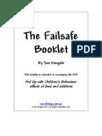 Fail Safe Booklet