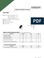 MOSFET - CES2331