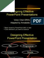 Effective Power Point Presentation