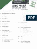 June 6 2011 Agenda001
