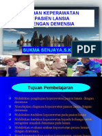 Askep Lansia Demensia