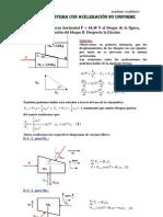 Sistemas de Particulas Con Aceleracion No Uniforme
