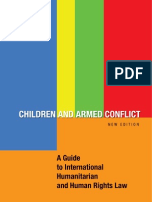 Children And Armed Conflicts Children S Rights