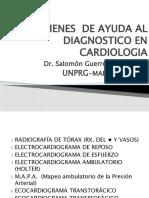 Examenes en Cardiologia