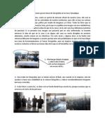 Recomendaciones para la toma de Fotografías en la institución 2011