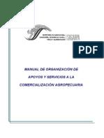 MANUAL DE ORGANIZACIÓN DE COMERCIALIZACION AGROPECUARIA
