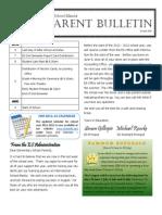 ES Parent Bulletin Vol#18 2011 June 3