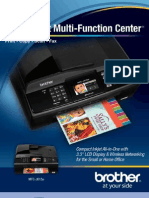 Brother MFCJ615w Wireless Color Photo Printer with Scanner, Copier & Fax