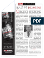 BLAST FAT IN 2 WEEKS (Quadra Cuts Competition) by Dr. Harvey PhD, RD, and Chief Science Officer at Max Muscle
