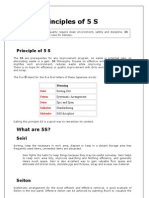 5 s Principles